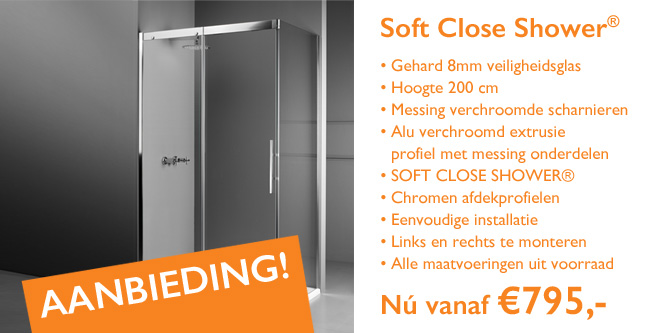 SOFT CLOSE SHOWER® te koop in Den Haag